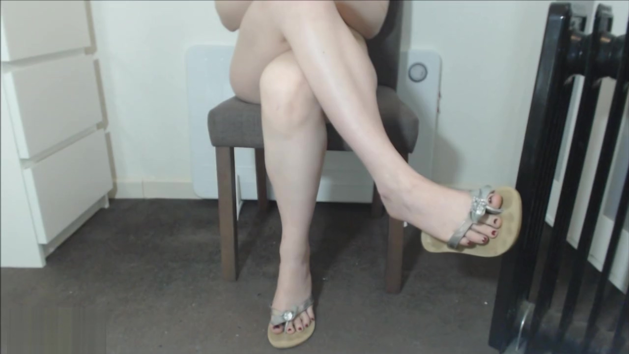 Silky Crossed Legs