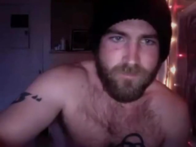 Handsome bearded hairy str8 hipster jerk and cum on cam 80s big tits milf