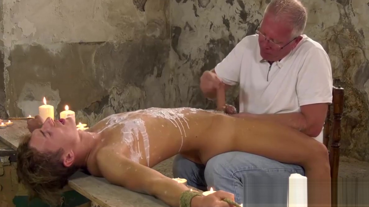 Restrained twink tormented before a sloppy handjob African American Wet Pussy