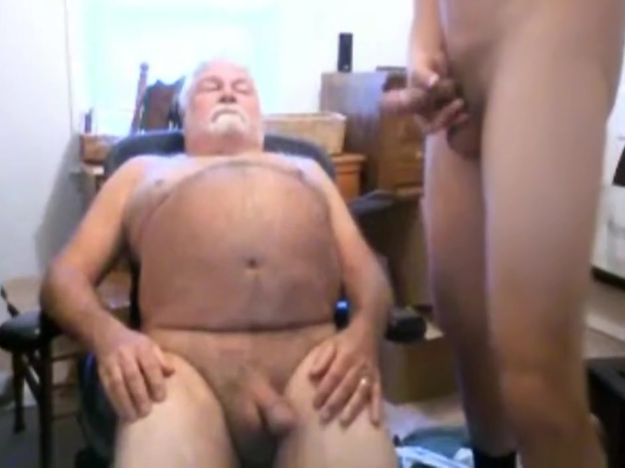 grandpa suck on webcam Perfect huge boobs sucks cock