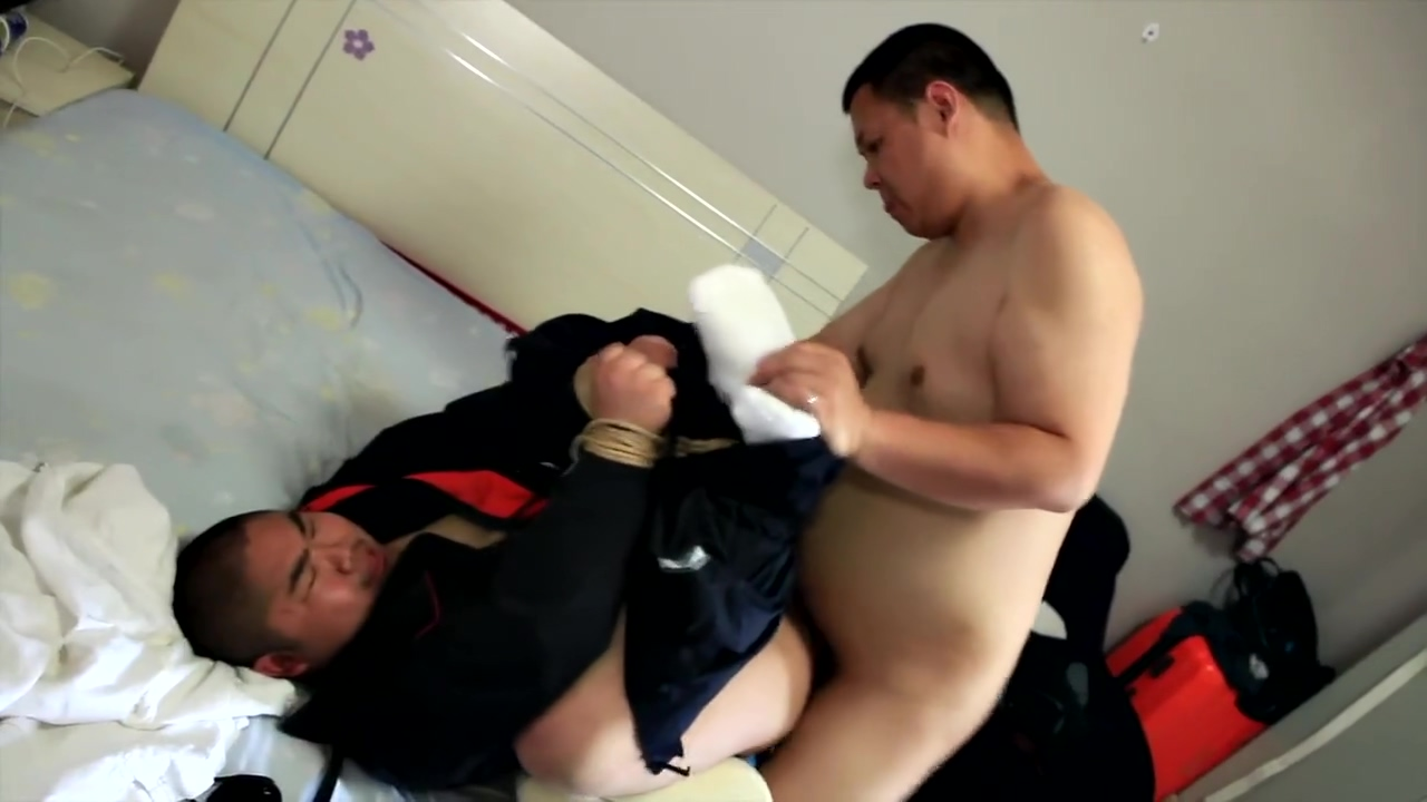 Sexy Asian Bear from Beijing - The Plumber HD Version-(No mask) Slut Sex in Benxi
