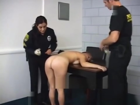Prison guard likes taking off prisoners clothes Jess impiazzi stockings