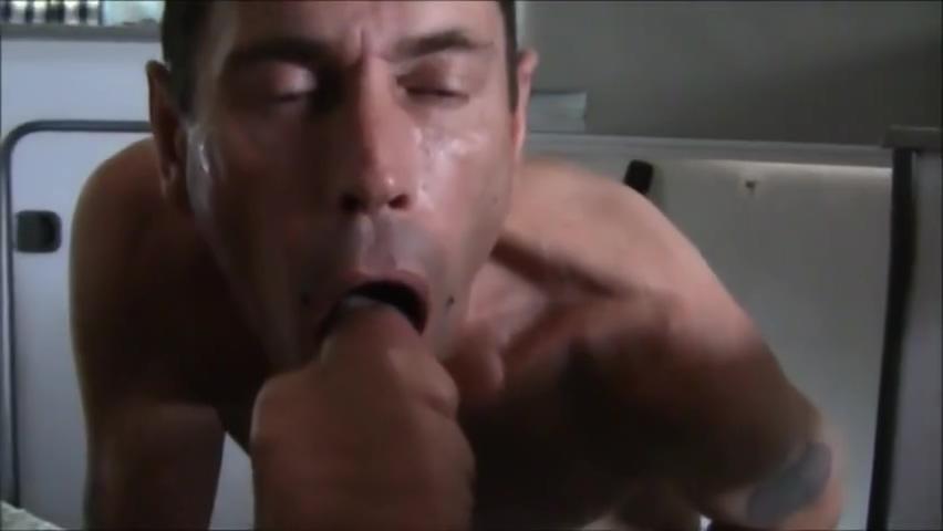 Danish Auto Camper Guy & Euro Guy, 10 Minutes Blowjob (No Sound + Part 2=2) Horney dirty hot sex porn