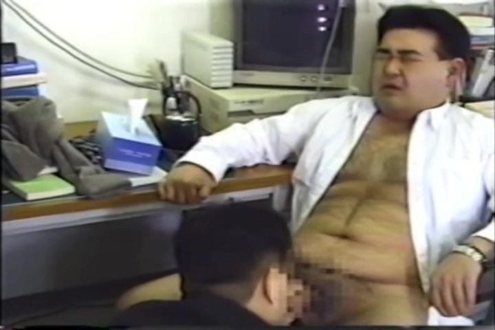 Japanese Office Worker BJ Perky puffy nipples pointy tits