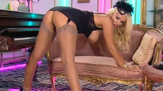 Lucy zara nylon nylons and heels Wife Pays Debt With Anal