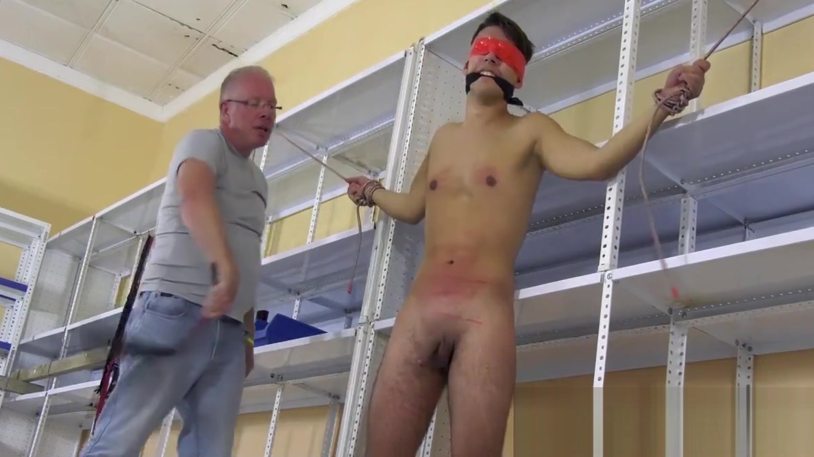 Restrained twink Maxxie Wilde whipped and jerked off roughly Big beautifultits