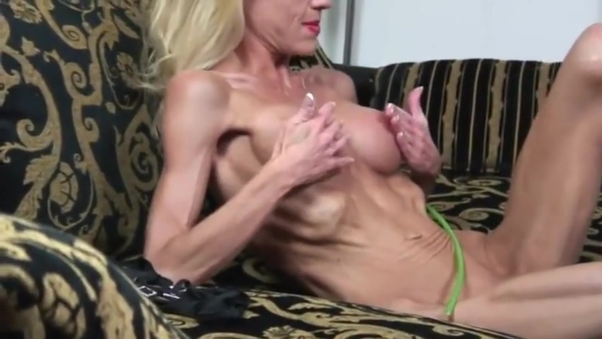 Extremely skinny mature shows off her belly and ribs -- as well as bolt-ons Girls rubbing two cocks together part ii page