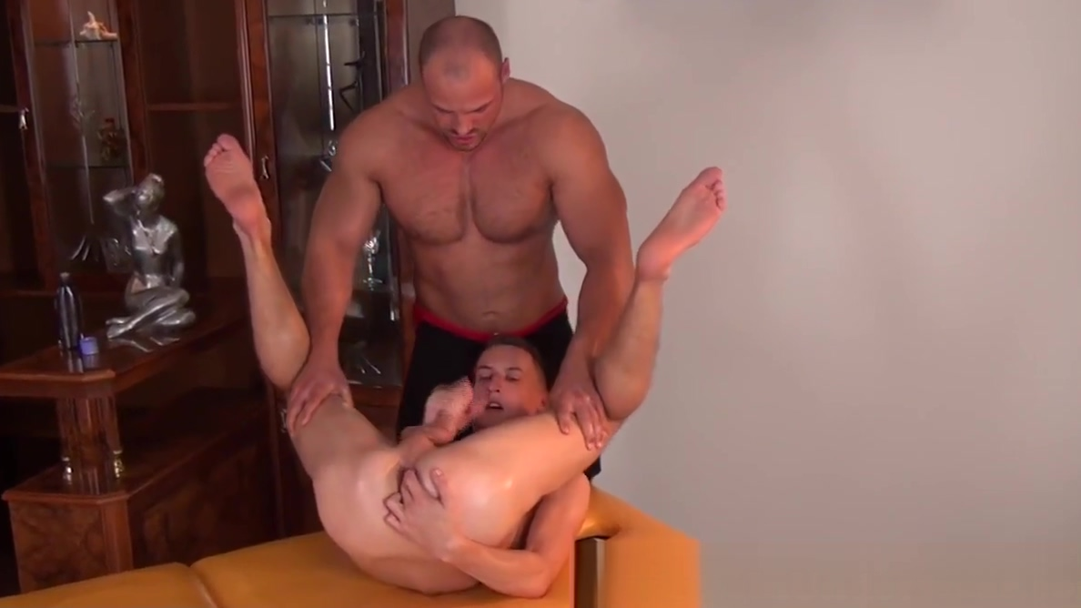 Stud masseur tugs on twinks huge dick Serious pick up lines that work
