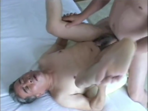 Japanese old man 58 big tits deep throat cum