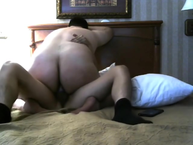 Chubby Bear Boy Rides His Chaser Friend Online hookup won't give phone number