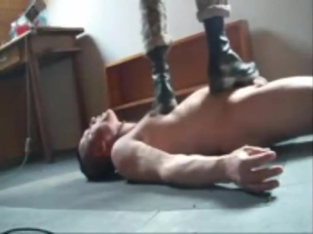 a slave worship his masters boots Men who love cum