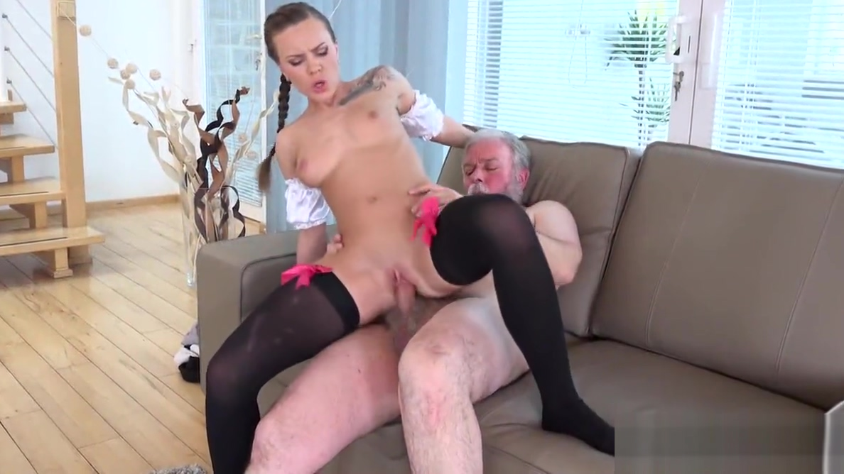 TeenMegaWorld - Old n Young - Sexy maid serves old man You have dick