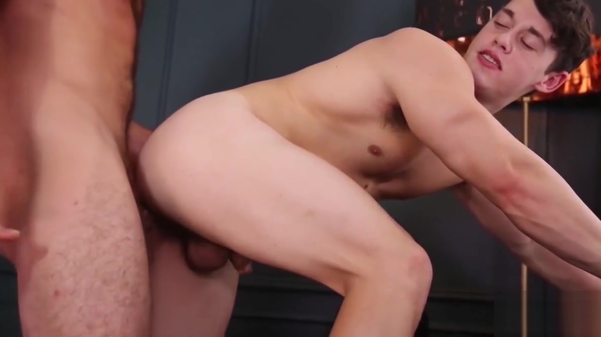 Ruttish gay boy just loves to ride a firm meat pipe so much Big boobs and red hair