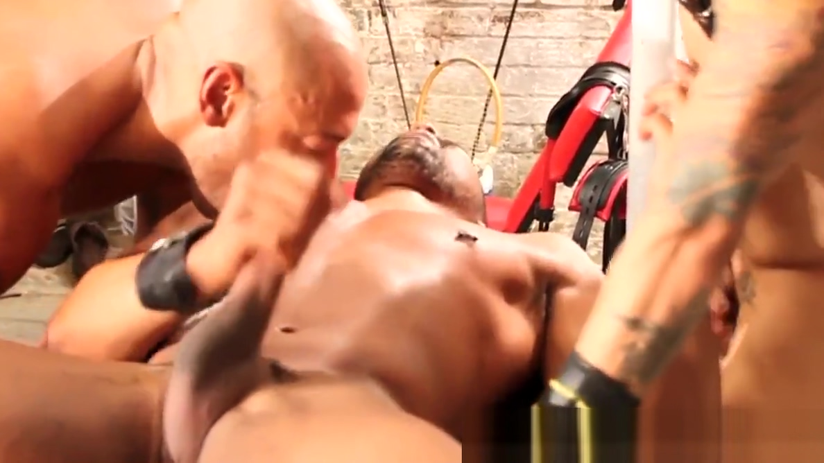 Analized black hunk gets it rough stud on fem lesbian porn