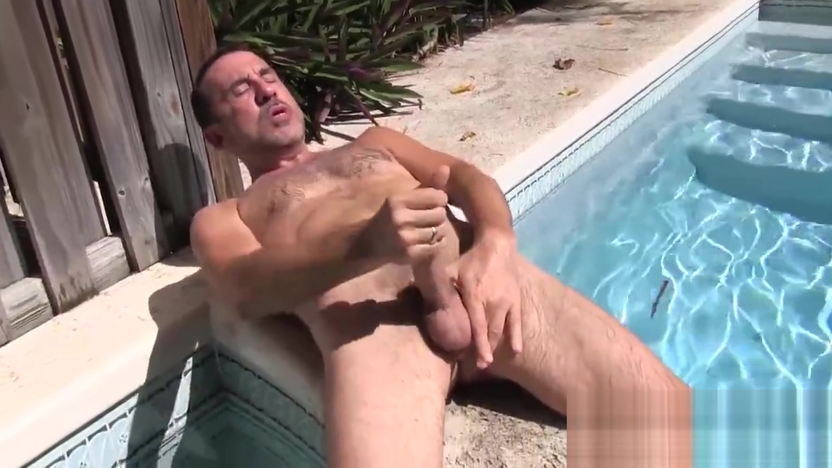 Nasty hunk fingers his ass while jerking off his hard cock Online dating for senior