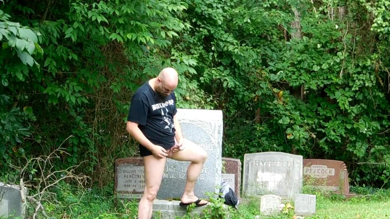 Jerking, Ass play, outdoors, public Cemetery PT.1 free cinderella man movie online