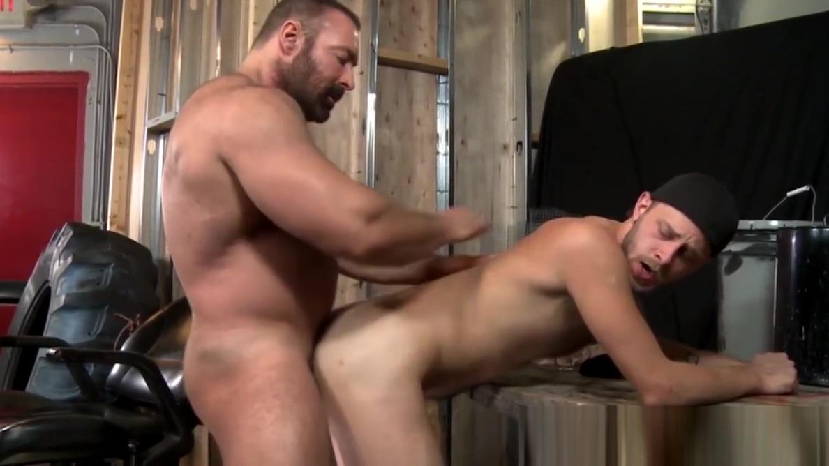 Hairy bear Brad Kalvo plows his pup Chandler Scott Blonde milf and her girlfriend kiss sensual