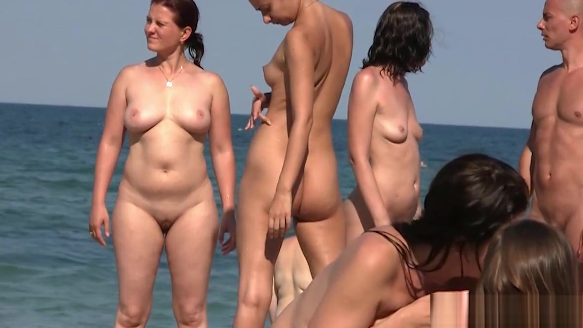 Amateur beach Nudist females Spied Hidden Cam Voyeur HD Sexy brunette rides cock