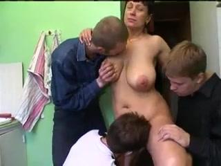 Russian Amandas Gangbang, (Preview)