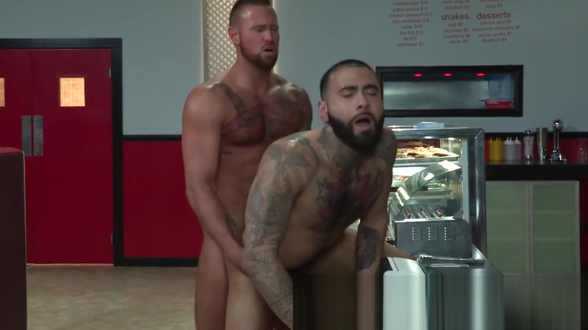 Well Built Rikk York Face and Ass Fucked by Michael Roman woman naked in spa