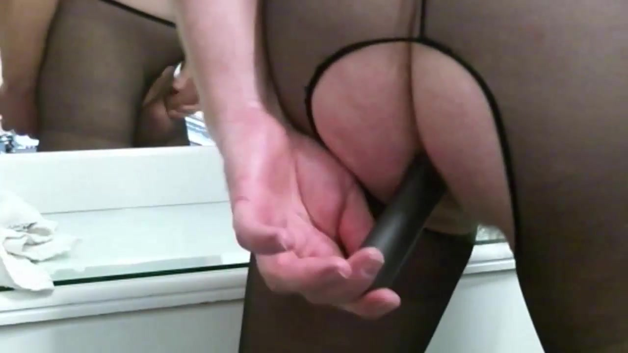 Erotic Reflections With Crotchless Pantyhose gay crossdressing porn tgp