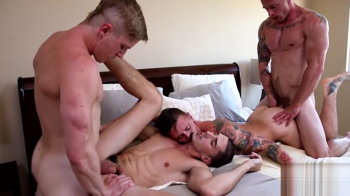 Markie More has an orgy with his big dicked bang buddies innocent the prison shower with the tough guy 3