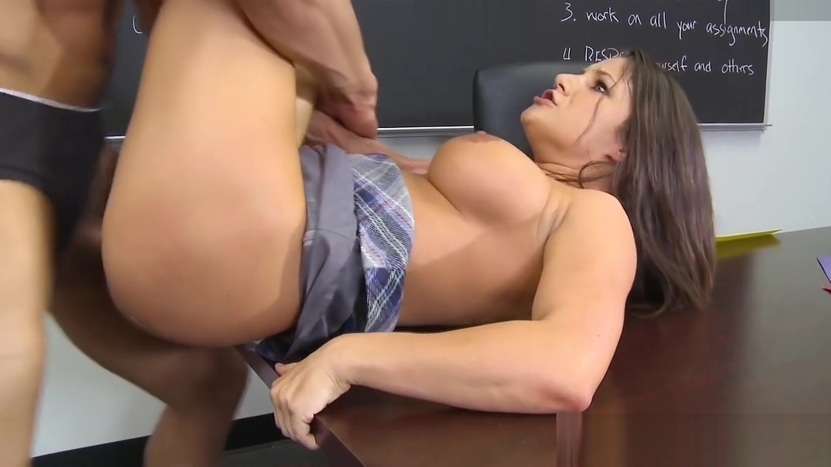 Busty Schoolgirl Charity Bangs Gets Busy