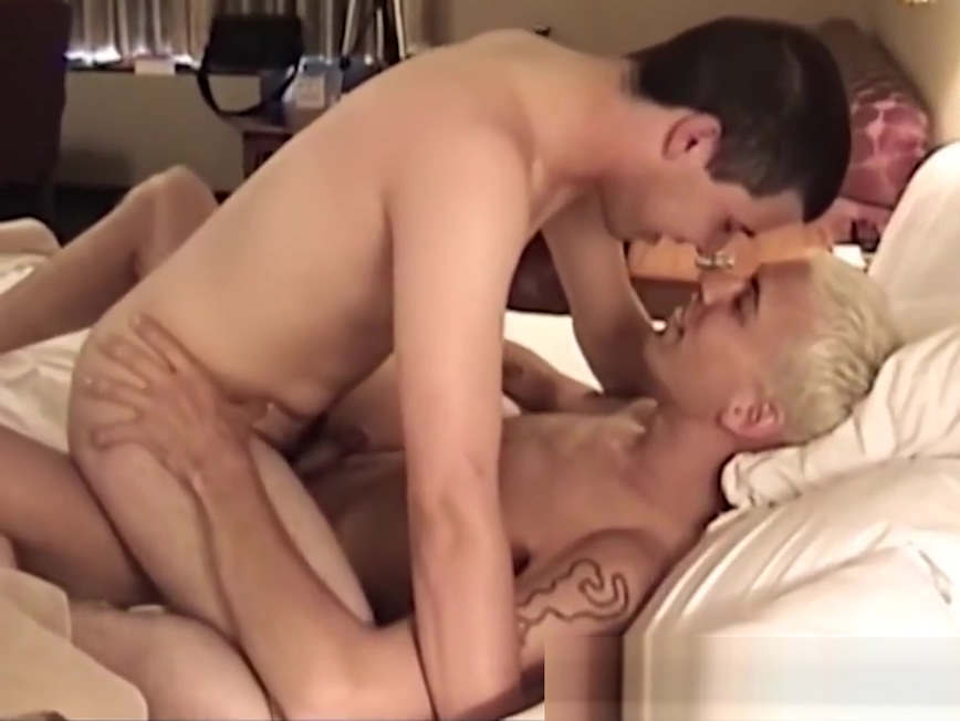 Handsome blonde stud destroys his cock hungry lover in bed Twink dream tgp