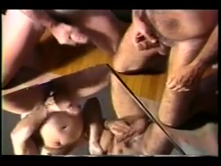 Classic leather hat stache dad jerks and sucks Kelly pickler nude pussy