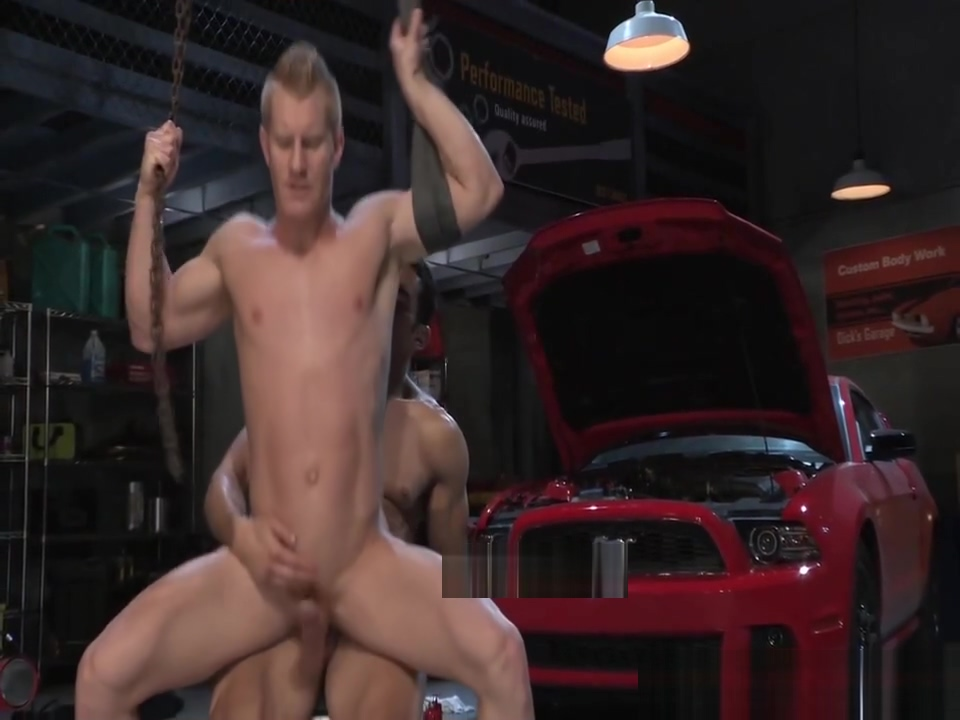 RagingStallion Mechanic Caught Wanking On The Job virgin s seal breaking