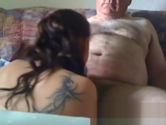 lovely grandpa gets sucked off by girl from SnapToFuck Really sexy tattoo ideas for women