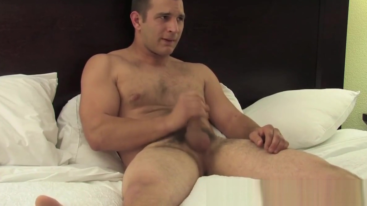 Handsome army jock tugging his dong Bruce myers nsa hookups
