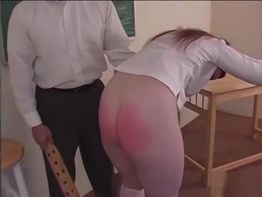 Bad Redhead Schoolgirl Spanked Hard Lesbian bulkake squirting
