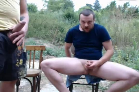 Bulgarian Guy Shemale big cock sex homemade fuck