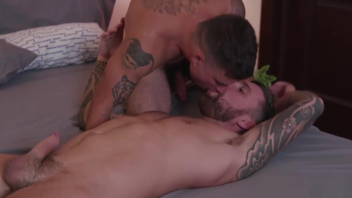 Teo Carter gets his asshole pounded hard by Vadim Black nana kitade bondage zip