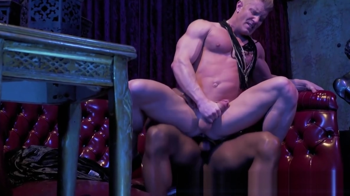 Johnny V Rides Big Black Cock in the Backroom berlin sex toy show