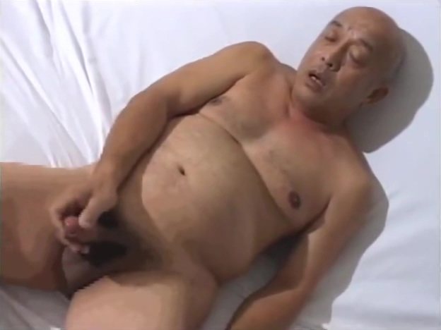 Japanese old man 124 Jason hand job