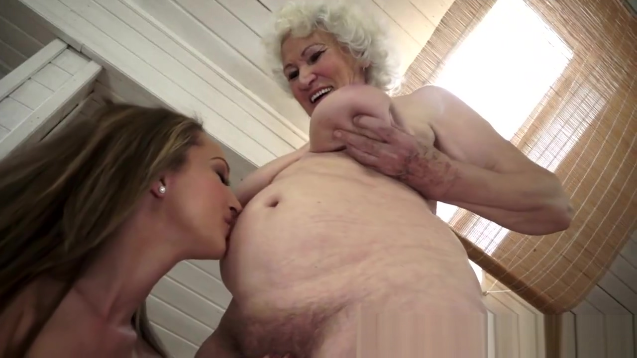 Outrageous Granny Licked by Horny Lesbian Teen Judy garland wizard of oz