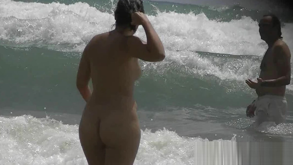 Beautiful babes are filmed secretly on the beach hot nudist big tits hot wallpaper
