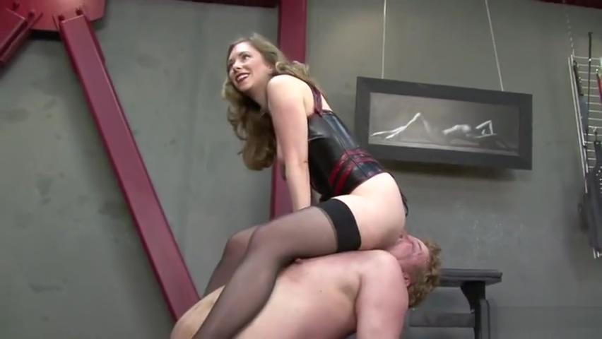 Face Chair Slave Sexy satin women