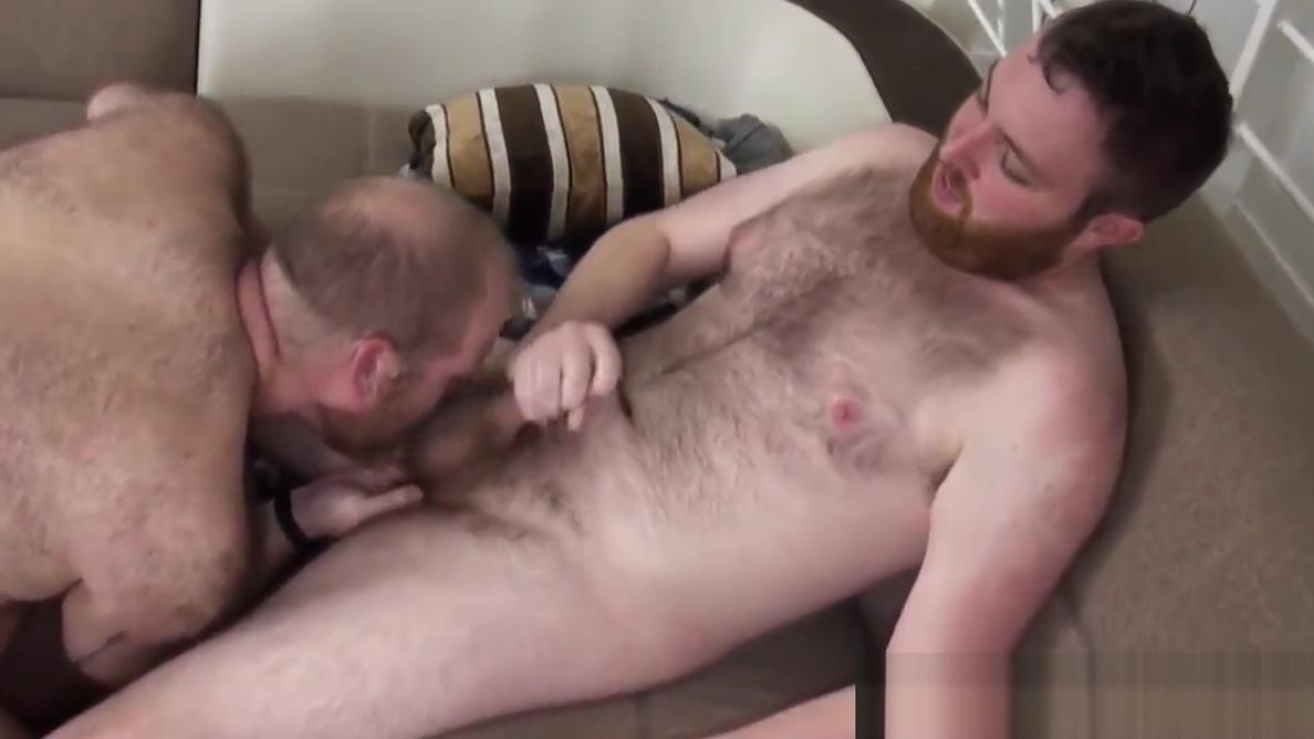 Sucked off mature bear barebacks bearded cub Accidental oral cumshot vids