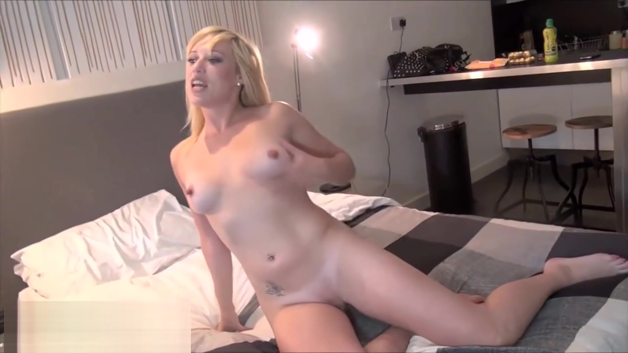 Sexy blonde flasher Axa Jays public exhibitionism and horny babes masturbat
