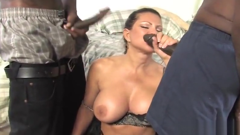 Teri Weigel takes two black cocks in front of her son Sex Stories And Experience