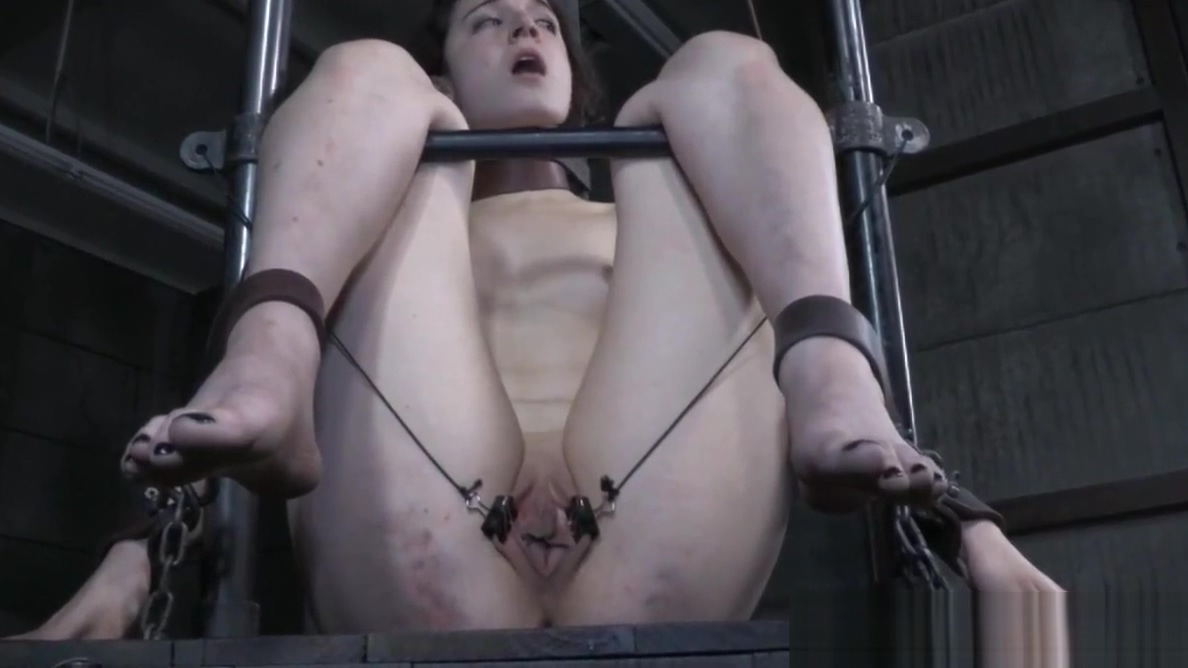 Collared slave pussyclamped while restrained for free a nice naked ukraine women