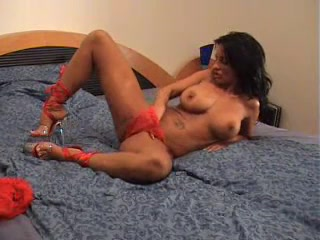 Busty mature playing with big dildo in her pussy free gay video trailer