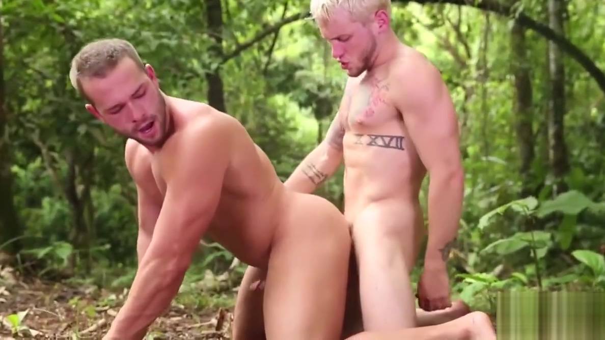 Luke Adams and Colton Grey cope with surviving the jungle moms xxatching sons watching porn materbating