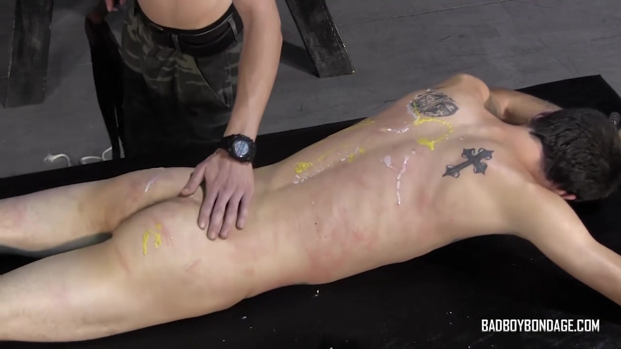 BadBoyBondage - Helpless young twink sucks cock takes BDSM whipping torment How to lift natural big boobs