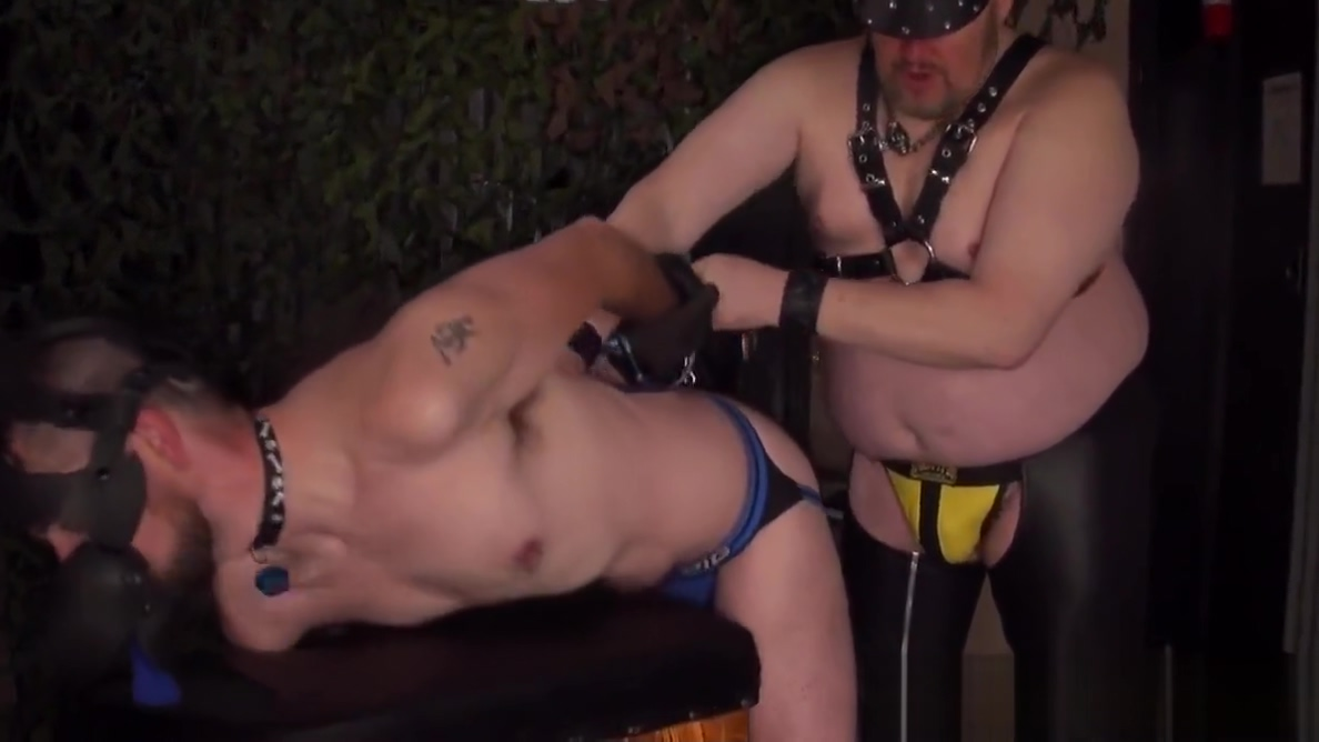 Superchub master has his way with bonded sub sex with boss video