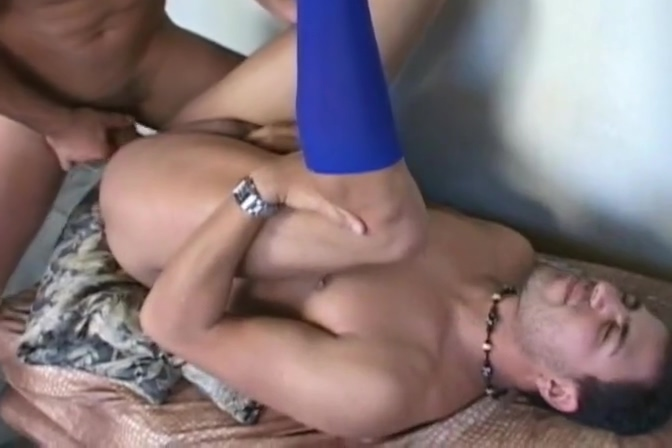 Latino Gay Lovers Hard Bareback Fucking Cougar sucks big cock