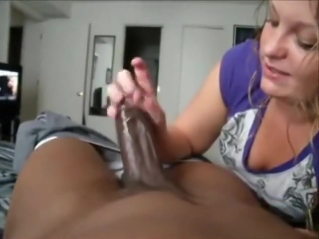 White gal eating a black shaft - POV brother sister love stories